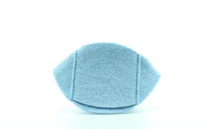 Obrázek Látkový okluzor modrý světlý